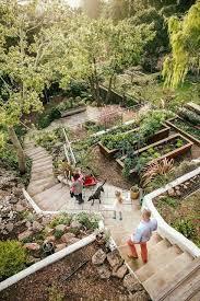 Best  Sloped Backyard Ideas On Pinterest Sloping Backyard - Landscaping design ideas for backyard