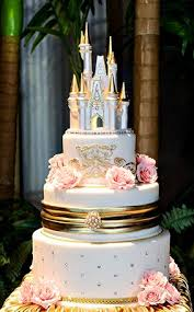 fairy tale happily ever after castle wedding cake top castle