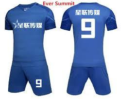 design anpassen immer summit fuß jersey 070105 stil fußballtraining sets