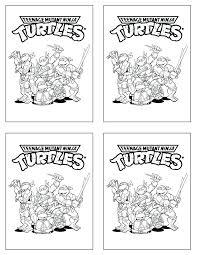 teenage mutant ninja turtles tmnt coloring free