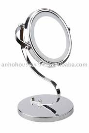 Lighted Makeup Vanity Mirror Bathroom Bathroom Vanity Mirror Design With Magnifying Lighted