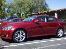 lexus is 250 year 2006 new is owner matador red is250 clublexus lexus forum discussion