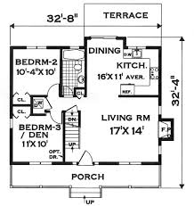 compact house design compact design 7134 4 bedrooms and 2 5 baths the house designers