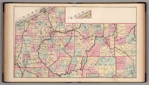 Western Pennsylvania Map by Plate A Northwest Pennsylvania David Rumsey Historical Map