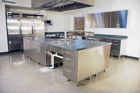White Kitchen Island With Stainless Steel Top by Stainless Steel Kitchen Island With Butcher Block Top Stainless