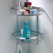 Corner Bathroom Shelving Bathroom Corner Shelf Completes Your Small Bathroom Midcityeast