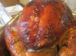 citrus stuffed smoked turkey on the grill recipe just a pinch