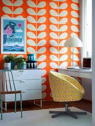 Wallpaper Design Images Best 25 Orange Wallpaper Ideas On Pinterest Orange Bath