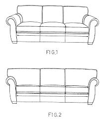 patent usd495158 sofa google patents