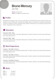 templates for cv free free dynamic cv templates land the job with our word templates