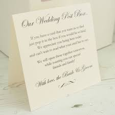 Wedding Poems For Invitation Cards Personalised Wedding Post Box By Dreams To Reality Design Ltd