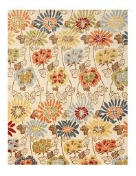 modern floral rug wildflower ivory wildflower ivory