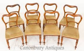 Victorian Dining Chairs Victorian Dining Chairs Mahogany And Walnut Chairs Canonbury