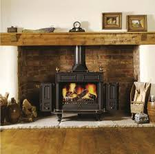 hearth ideas for free standing wood stove wood burning