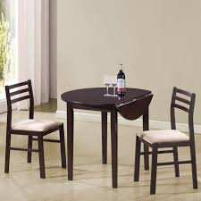 coaster furniture 130005 3 pieces dining set in cappuccino with