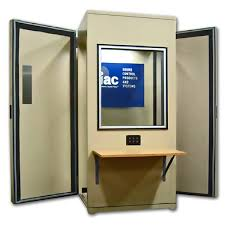photo booth enclosure iac audiometric booth acoustical solutions