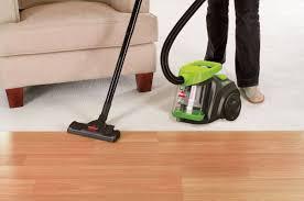Laminate Flooring Vacuum Amazon Com Bissell Zing Bagless Canister Vacuum 1665 Corded