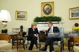 President Obama In The Oval Office President Obama Meets With German Chancellor Merkel In The Oval