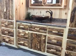 Log Cabin Bathroom Vanities by Log Bathroom Vanity Bathroom Decoration