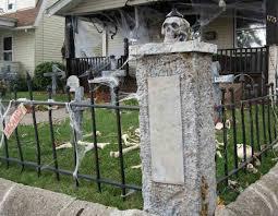 bills art and design halloween cemetery