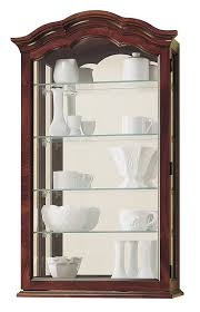 Wall Mounted Cabinet With Glass Doors by Curio Cabinet Curio Cabinet Kimberley Country Tuscan Wallnted