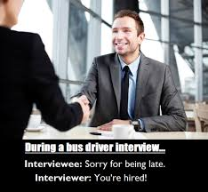 Meme Driver - bus driver interview meme guy