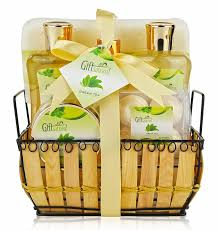 Great Gifts For Women Spa Gift Basket With Rejuvenating Green Tea Fragrance Great
