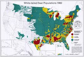 United States Map By Population by Historic Wildlife Range Maps Se Cooperative Wildlife Disease
