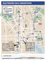 baltimore routes map baltimore running festival on your events promos for
