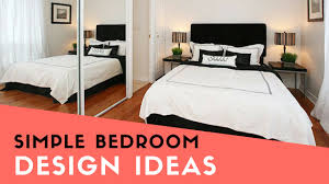 simple bedroom decor 24 lofty inspiration elegant simple bed