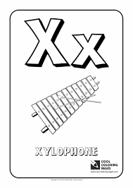 letter x u2013 coloring alphabet cool coloring pages