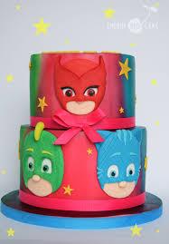 pj masks cake birthdays pj mask pj masking
