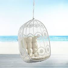 Swingasan Cushion by La Fleur White Swingasan Hanging Chair Pier 1 Imports