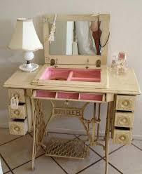 Diy Vanity Desk Diy Vanity Table Ideas From Pinterest Paperblog