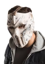 halloween costume with mask tmnt 2 casey jones hockey mask