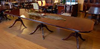 buy 151 inch sheraton burl top mahogany dining table by mm