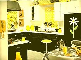 Yellow And White Kitchen Ideas Black White And Yellow Kitchen Magnificent Yellow Black And White