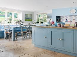 Country Blue Kitchen Cabinets by Farrow And Ball Dining Room Country Kitchen Painted Cabinets