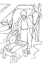 coloring christmas bibel coloring pages 17