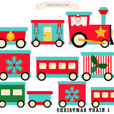 christmas clipart train clipart christmas train instant