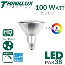 wet rated light bulbs par38 led bulb high cri 100w equal 25 degree outdoor rated