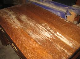 how to fix water damage on wood table the craftsman oak mission style desk