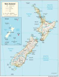 map new new zealand maps perry castañeda map collection ut library