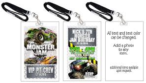 monster truck jam tickets monster jam birthday invitations reduxsquad com
