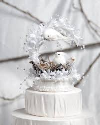 dove cake topper buy heavenly nest with two doves birds with silk and faux