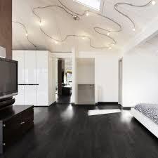 Black Vinyl Plank Flooring Glue Wood Effect Black Ash Emboss 152x914mm Luxury Vinyl