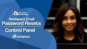 change a rackspace email mailbox password