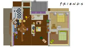 lego ideas friends monica and rachel u0027s apartment