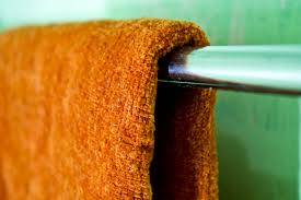 how to fold bath towels for quick hanging at home 4 steps
