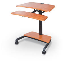 Stand Sit Desk by Balt 90459 Up Rite Workstation Mobile Adjustable Sit And Stand